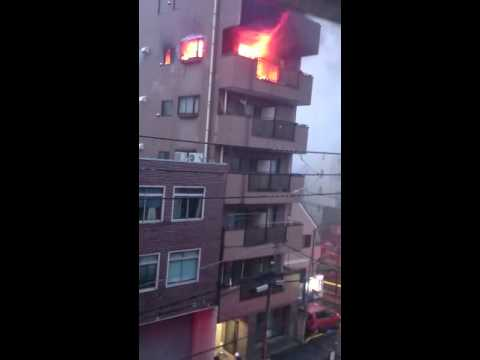 Apartment Fire, Tokyo Japan 11/2/2015