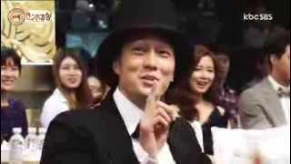So Ji Sub - Cute Moments at 2013 SBS Drama Awards