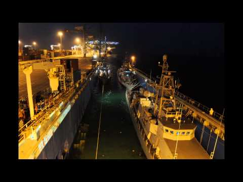 Time Lapse Video of PC ships arriving to Bahrain - Pt. 1 of 2
