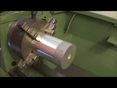 Tornitura Pulegge Per Levigatrice Professionale [ Turning Pulleys For Professional Belt Grinder ]