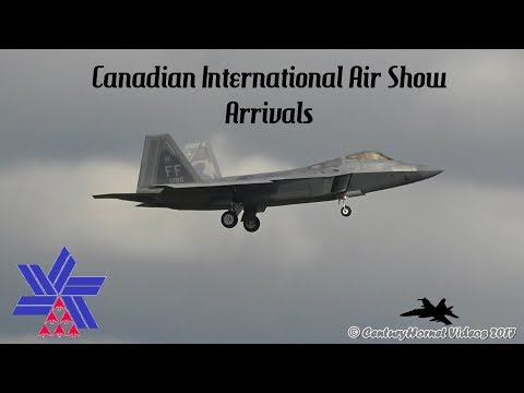 Canadian International Air Show 2017 Airshow Arrivals August 31, 2017