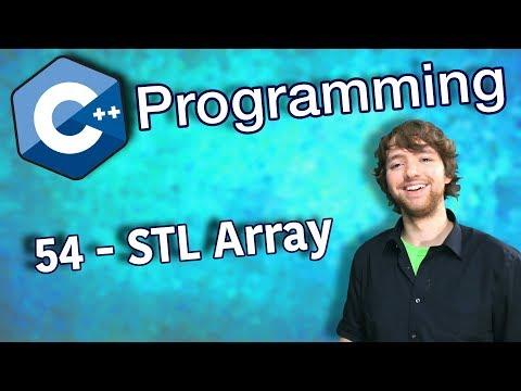 C++ Programming Tutorial 54 - STL Array thumbnail