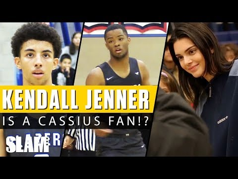 Kendall Jenner is a Cassius Stanley fan!? 💁🏻♀️ Sierra Canyon 30-Piece!