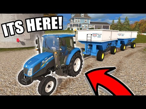 WE GOT OUR NEW TRACTOR! & 9 PIGS DIED | FARMING SIMULATOR 2017 | EP#13