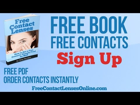 Free Contact Lens Samples by Mail with Free Shipping