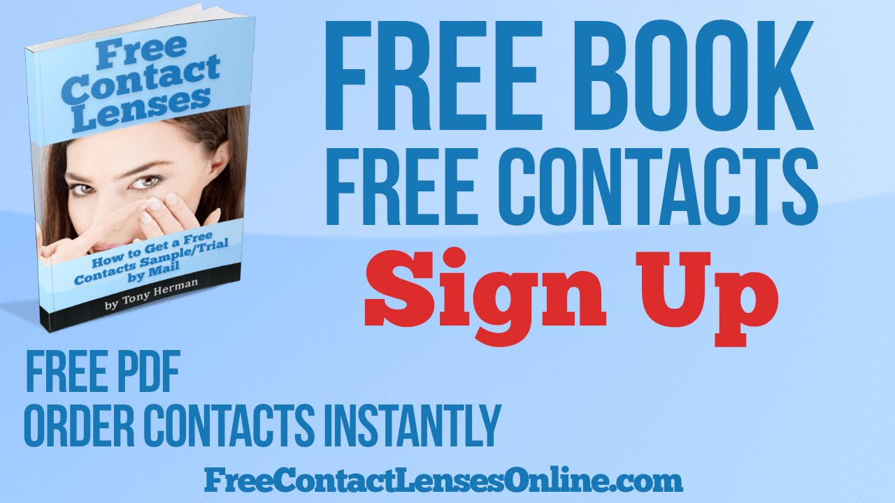 Free Contact Lens Trial >> Free Contact Lens Samples By Mail With Free Shipping