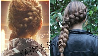 How to the KATNISS BRAID ♡