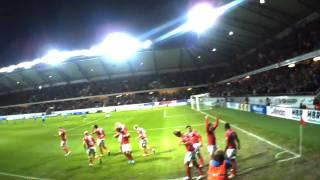 Kalmar FF-Djurgården *2-1* 11/4 2011 - Premiären av Guldfågeln Arena