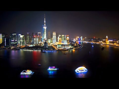 Shanghai Time Lapse Videos, China, The Most Populous City in The World
