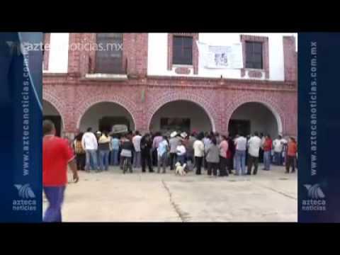 Retienen a ladrones de cable de luz en Tenancingo