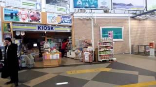 東北地方太平洋沖地震の瞬間(青森県八戸駅で被災)
