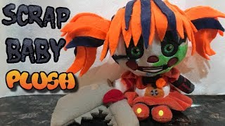 Scrap Baby Plush from FNAF 6 (Freddy Fazbear's Pizzeria Simulator) *Custom*