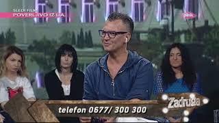 Zadruga 2 Narod Pita   Marko Komentariše Luninu Pesmu Koja Je Podseća Na Slobu   19.08.2019.