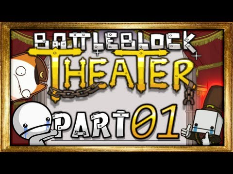 #01 -  Episches Intro! ಠ_ಠ - BattleBlock Theater (Together/Coop)