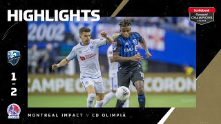 SCCL2020 QF: Montreal Impacts vs CD Olimpia   Highlights