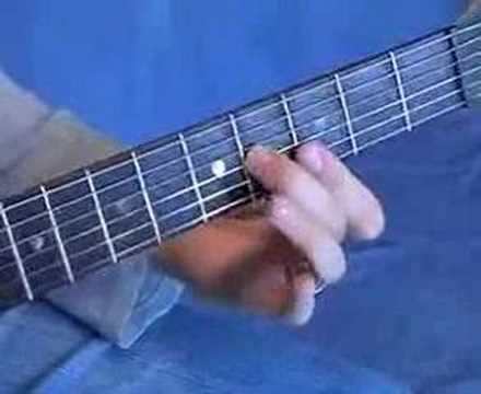 All Star Guitar Tab Chord Inversions CAGED