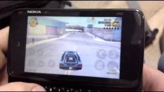 Grand Theft Auto III - Nokia N900 gameplay (NITDroid)