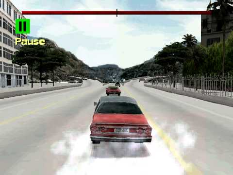 Driver 2 - Rio - Mission 7 - Chase The Gunman - Nice And Easy
