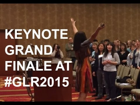 Keynote Ending at Music Therapy Conference: #GLR2015