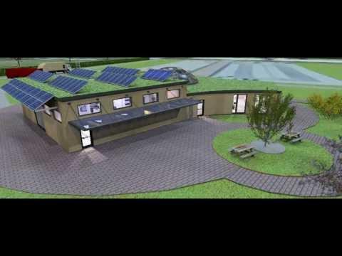 Renewable Energy Research Centre - Building CAD Design