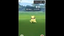 Shiny ABRA and Shiny ✨ Alakazam | Pokémon Go