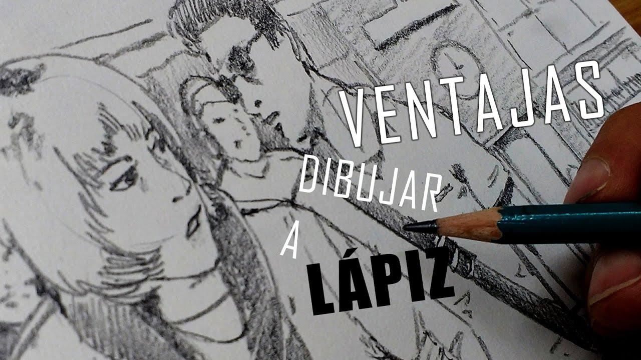 5 ventajas de ser dibujante a lápiz. - YouTube