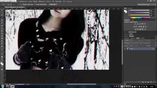 Видео-урок по замыливаю фона в PS photoshop