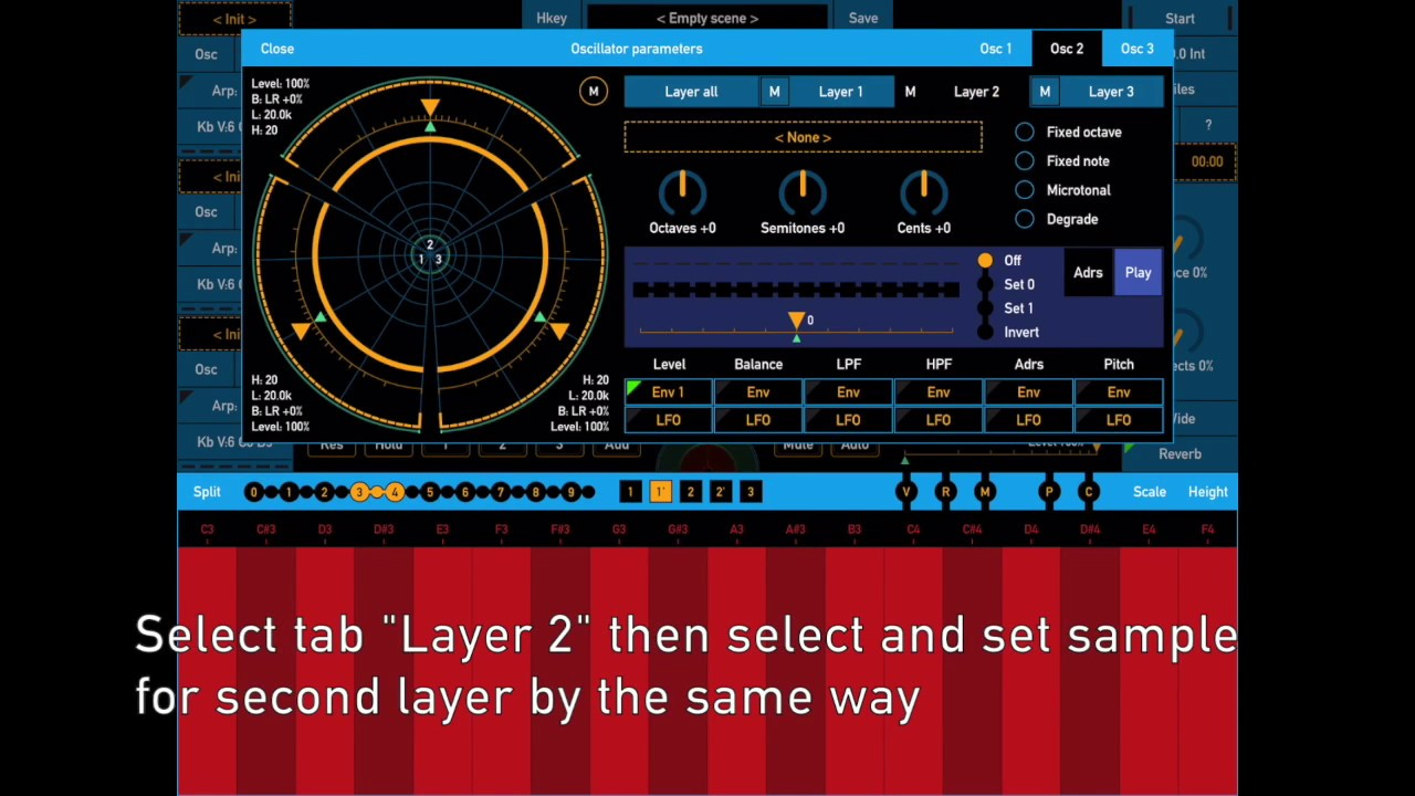 SynthScaper - Automate pitch shifting