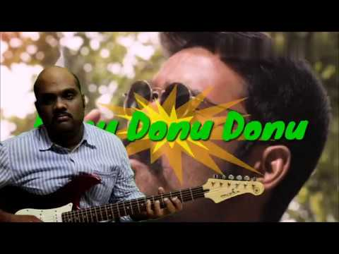 Donu Donu Donu song from Mari Movie on Guitar Instrumental...
