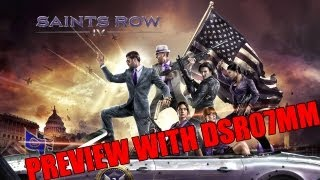 Saints Row 4 PREVIEW (Gameplay / Walkthrough) - Free Roam, Powers, Weapons, Optimization