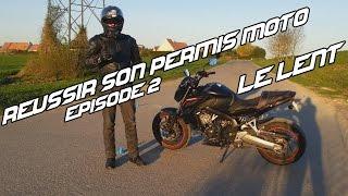 Réussir son Permis Moto #2 | Le Plateau Lent - SHIFT 87