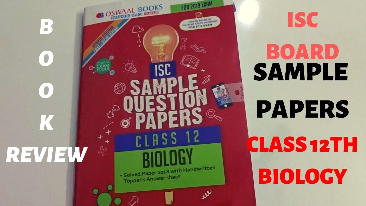 Isc Biology Book For Class 12