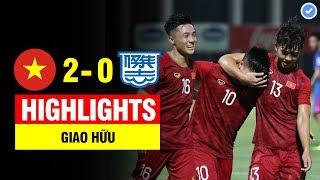 Highlights: U22 Việt Nam 2 - 0 Kitchee SC | Siêu phẩm khó tin | Bản đầy đủ nhất & BL Tiếng Việt