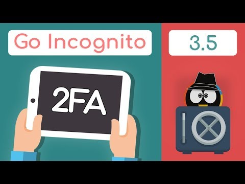 Two Factor Authentication Explained | Go Incognito 3.5