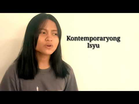 AP10 - Kontemporaryong Isyu