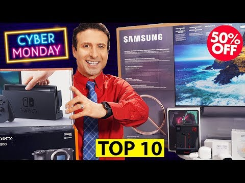 Top 10 Cyber Monday 2019 TECH DEALS