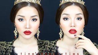 (ENG)Trang Điểm Sang Trọng Phong Cách Baroque Dolce Gabbana Inspired   Tina'sBeautyTips