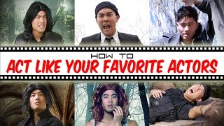 How To Act Like Your Favorite Actors thumbnail