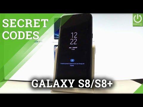 SAMSUNG Galaxy S8 & S8+ CODES / HIDDEN MENU / TRICKS / TIPS