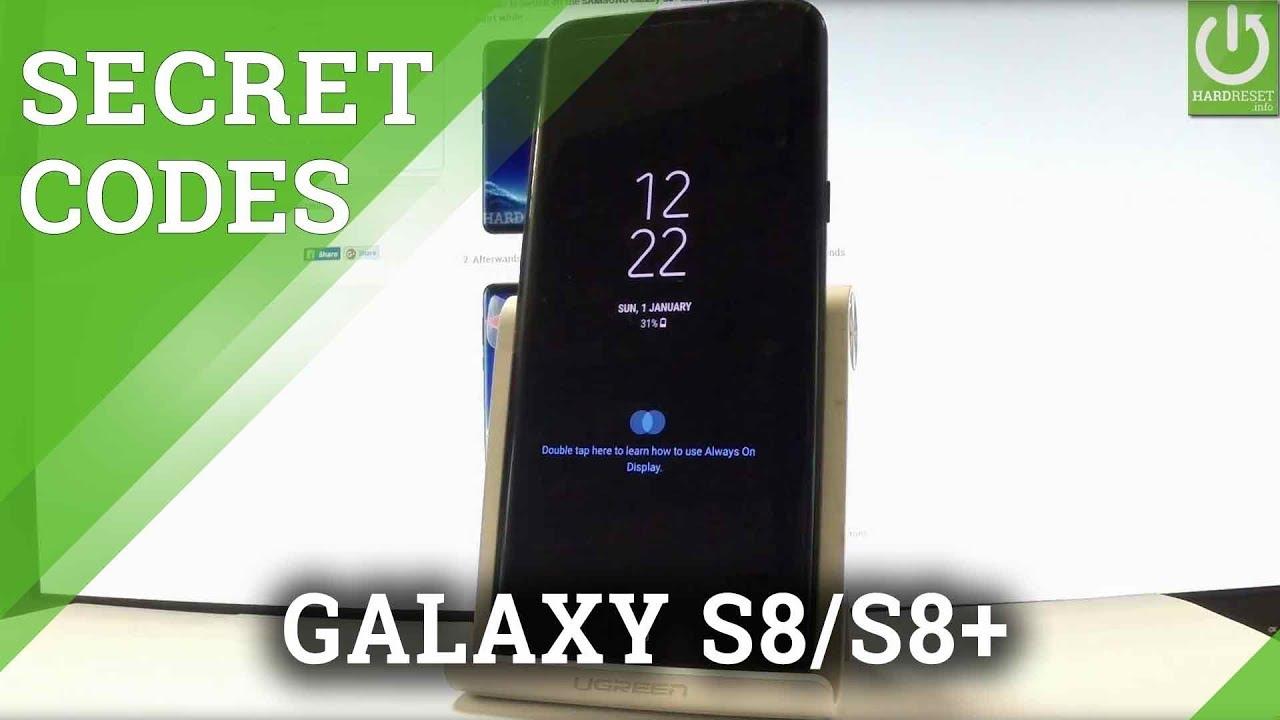 Codes SAMSUNG G955U Samsung Galaxy S8+ - HardReset info