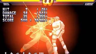 Street Fighter EX2 Plus ps1 todo desbloqueado + save game + todos los meteor