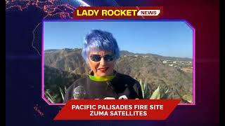 Lady Rocket at Palisades fire Site, California | May 19, 2021