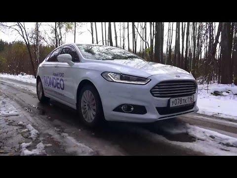 2015 Ford Mondeo Titanium. Тест Драйв.