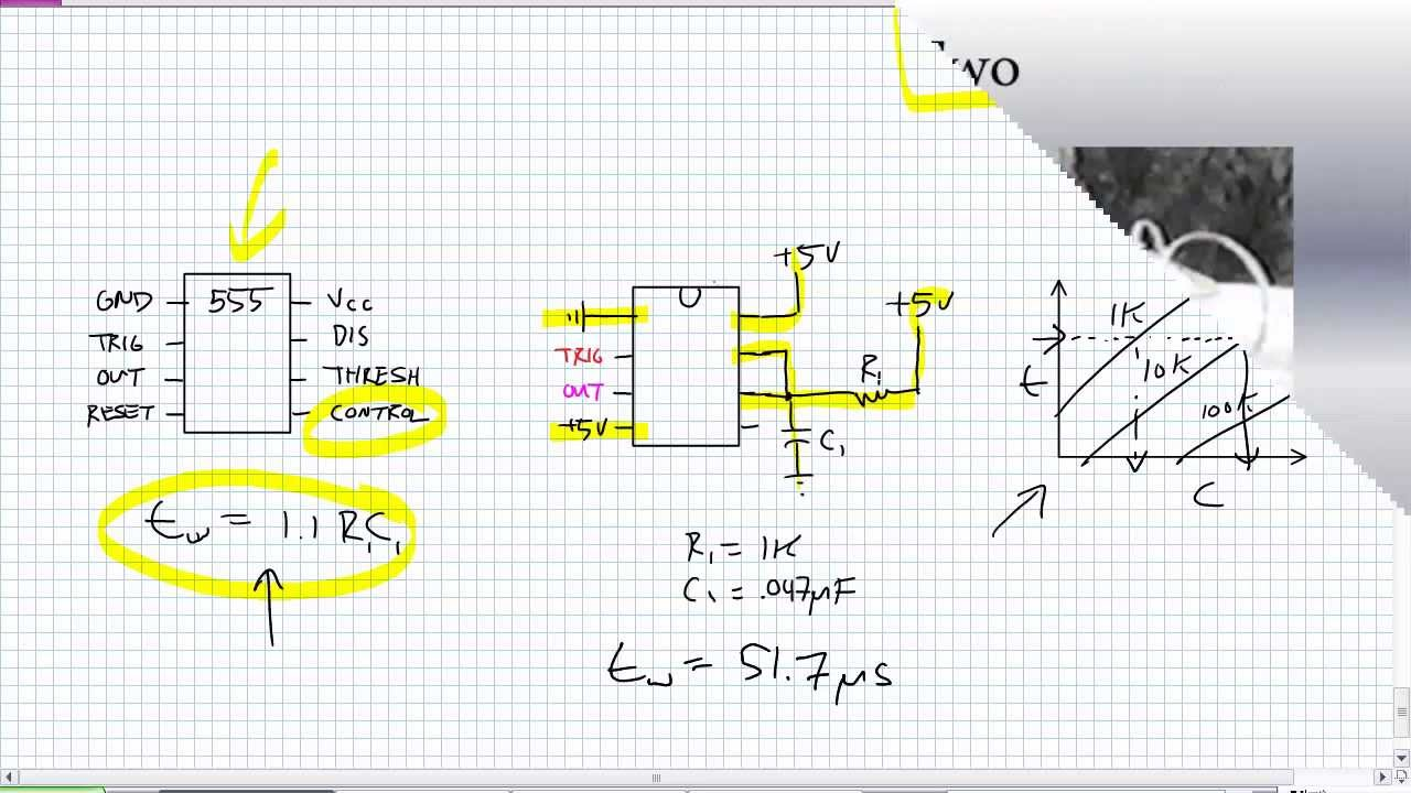 555 Timer Monostable Operation Youtube Touch Switch With Ic