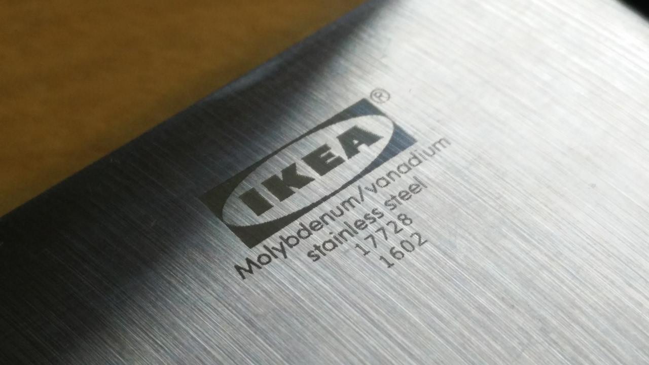 Ikea Vardagen Knife Tormek T7 Sharpening Youtube