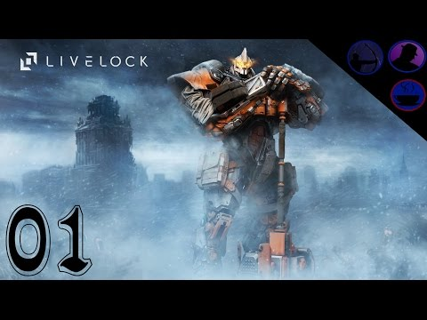 Let's Play Livelock - Co-Op - Ep. 1 - Russian Robot!