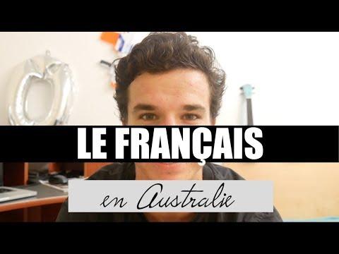 LE FRANÇAIS EN AUSTRALIE