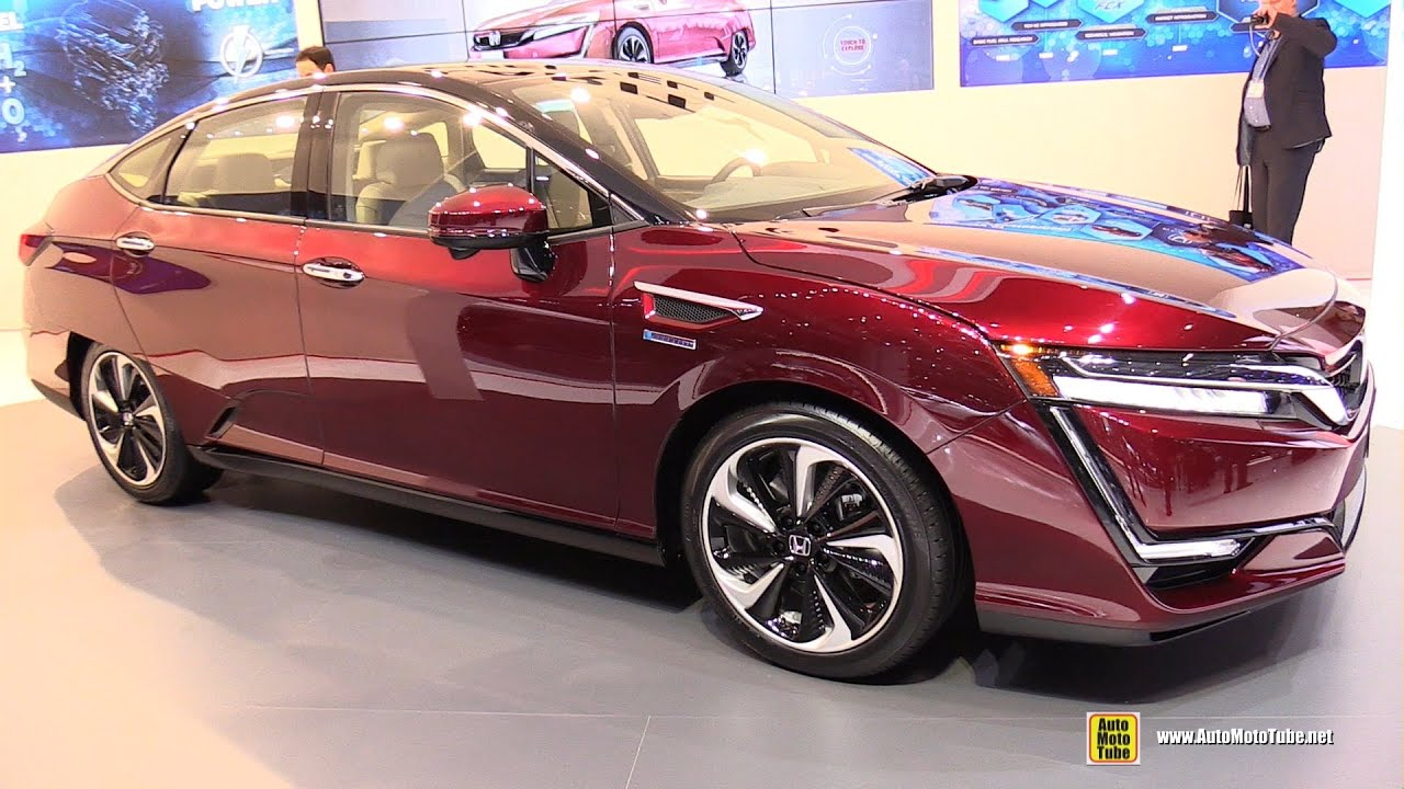 2017 Honda Clarity Fuel Cell Exterior And Interior Walkaround 2016 Geneva Motor Show