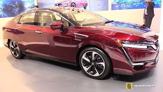 2017 Honda Clarity Fuel Cell - Exterior and Interior Walkaround - 2016 Geneva Motor Show