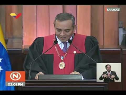 Presidente del TSJ venezolano rechaza autoproclamación de Juan Guaidó como Presidente